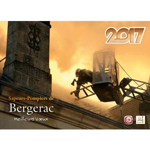 Calendrier des Sapeurs-Pompiers de Bergerac 2017.