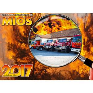 Calendrier des Sapeurs-Pompiers de Mios 2017.