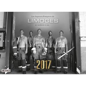 Calendrier des Sapeurs-Pompiers de Limoges 2017.