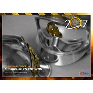 Calendrier des Sapeurs-Pompiers de Cherbourg 2017.