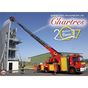 Calendrier des Sapeurs-Pompiers de Chartres 2017.