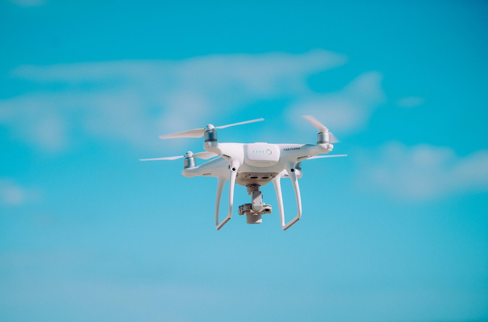 Un drone pour aider les pompiers