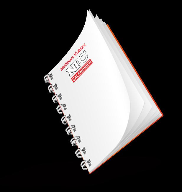 Agenda de bureau npc calendrier - Calendrier photo de bureau ...